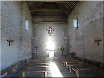 TM0308 : The interior of St Peter-on-the-Wall, Bradwell-on-Sea by Marathon