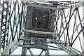 SJ3148 : The headgear at Bersham Colliery from below by Richard Hoare