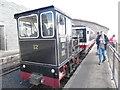 SH6054 : Diesel Train at Snowdon Summit Station (2) by David Hillas