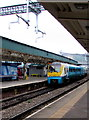 ST3088 : Milford Haven train in Newport station by Jaggery