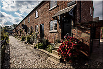 SJ8383 : Quarry Bank Mill Workers Cottages by Brian Deegan