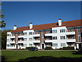 TQ1996 : 1930s flats at Borehamwood by Marathon