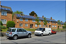 TQ6040 : Solar panelled houses by N Chadwick