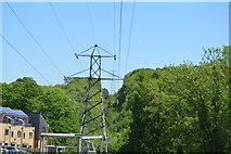 TQ6041 : Pylon near Greggs Wood Rd by N Chadwick