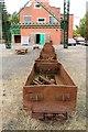 SJ3148 : Rack of colliery trucks by Richard Hoare