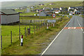 HU4330 : A970 approaching Cunningsburgh by David Dixon