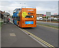 ST3261 : Open-top double-decker bus, Station Road, Weston-super-Mare by Jaggery