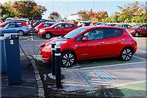 NS3421 : Car Park Charging Point - Ayr by Ian Rainey