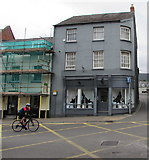 SO2914 : Amanda Jayne Shoes shop, 16 Cross Street, Abergavenny by Jaggery