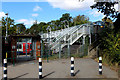 TL4601 : Footbridge at Epping Underground Station by Chris Heaton
