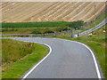 HU3821 : Farmland near Bigton by David Dixon