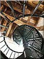 SP5106 : Oxford: spiral staircase within the Carfax Tower by Chris Downer