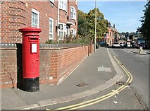 TG2309 : George VI pillar box on Barrack Street by Evelyn Simak