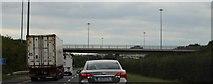 O1762 : J6 overbridge, M1 by N Chadwick