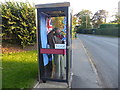 SK8686 : An unusual use for a telephone box by Marathon