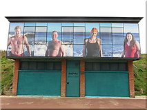 NZ3573 : Panama Swimming Club Clubhouse Northern Promenade Whitley Bay by Geoff Holland