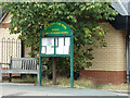 TL9123 : Marks Tey Village Notice Board by Adrian Cable
