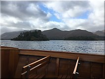 NY2521 : A View of Cat Bells from the Launch by Jennifer Petrie