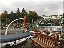 SD4096 : M.V. Teal is about to set out from Bowness on Windermere by Jennifer Petrie