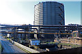 SE9110 : Appleby Frodingham Steelwoorks - gas holder by Chris Allen