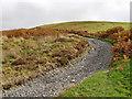 SN7553 : Former drove road leaving Cwm Doethie, Ceredigion by Roger  Kidd