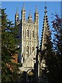SO8218 : Tower of Gloucester Cathedral by Philip Halling