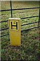 TF0015 : Hydrant sign by Bob Harvey