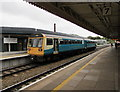 ST1875 : Platform 8, Cardiff Central railway station by Jaggery
