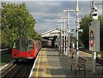 TQ2387 : Brent Cross tube station by Mike Quinn