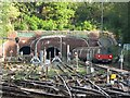 TQ2587 : The tunnels east of Golders Green tube station by Mike Quinn