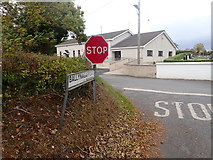 J2333 : The junction of Ballynagappoge Road and Bannfield Road by Eric Jones