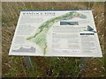 SO6199 : National Trust Information Board at Wenlock Edge (1) by David Hillas