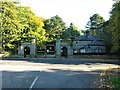 SD4861 : Gate and Lodge, Wyresdale Road, Williamson Park, Lancaster by G Laird