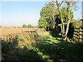 SE9833 : Field  edge  footpath  north  side  of  Little  Weighton by Martin Dawes