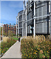 TQ2983 : Gasholder Flats by John Sutton