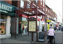 TG5207 : Great Yarmouth's Rows - Market Row by Evelyn Simak