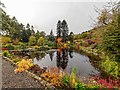 NH7523 : Pond Kyllachy House by valenta