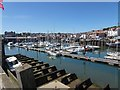 TA0588 : Scarborough Harbour by Penny Mayes