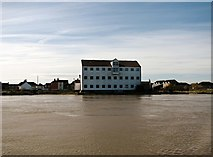 TG5107 : View across the River Yare from Fishers Quay by Evelyn Simak
