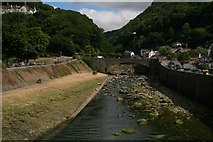 SS7249 : River Lyn, Lynmouth by Chris