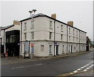 SS9079 : HRT office in Bridgend town centre by Jaggery
