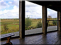 SN6862 : The bird hide on Cors Caron in Ceredigion by Roger  Kidd