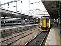 TG2308 : Trains  in  Norwich  Station by Martin Dawes