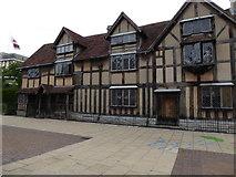 SP2055 : Shakespeare's birthplace, Stratford-Upon-Avon by Eirian Evans