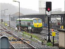 W6872 : IE 201 class locomotive on Cork shed by Gareth James