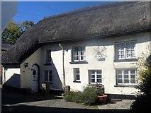 SX7087 : Chagford houses [3]  by Michael Dibb