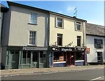 SO3014 : Bespoke and Magnolia, Cross Street, Abergavenny by Jaggery