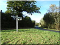 TL9225 : Foxes Lane, Aldham by Geographer