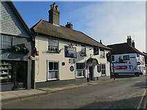 SU1429 : The Queen's Arms, Ivy Street, Salisbury by Stephen Craven