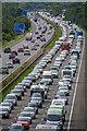 ST0209 : Mid Devon : M5 Motorway by Lewis Clarke